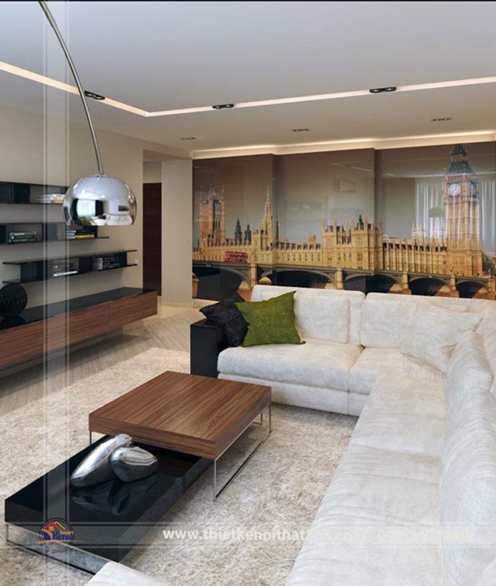 Thiết kế nội thất chung cư nhà anh Nguyễn Nam