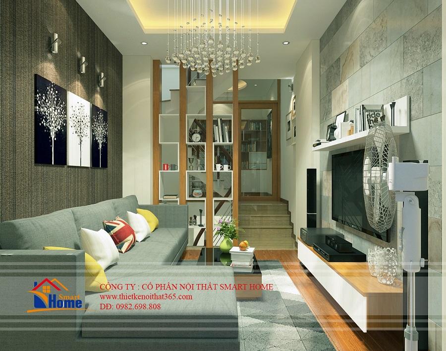 Thiết kế nội thất nhà lô phố tại Bùi Xương Trạch, Thanh Xuân